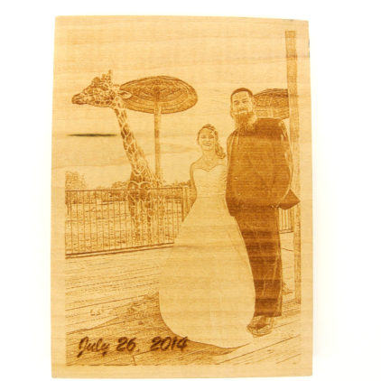 Photo Engrave Wall Hanging