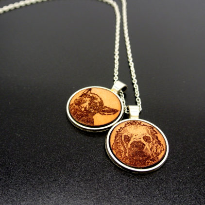Photo Engrave Necklaces