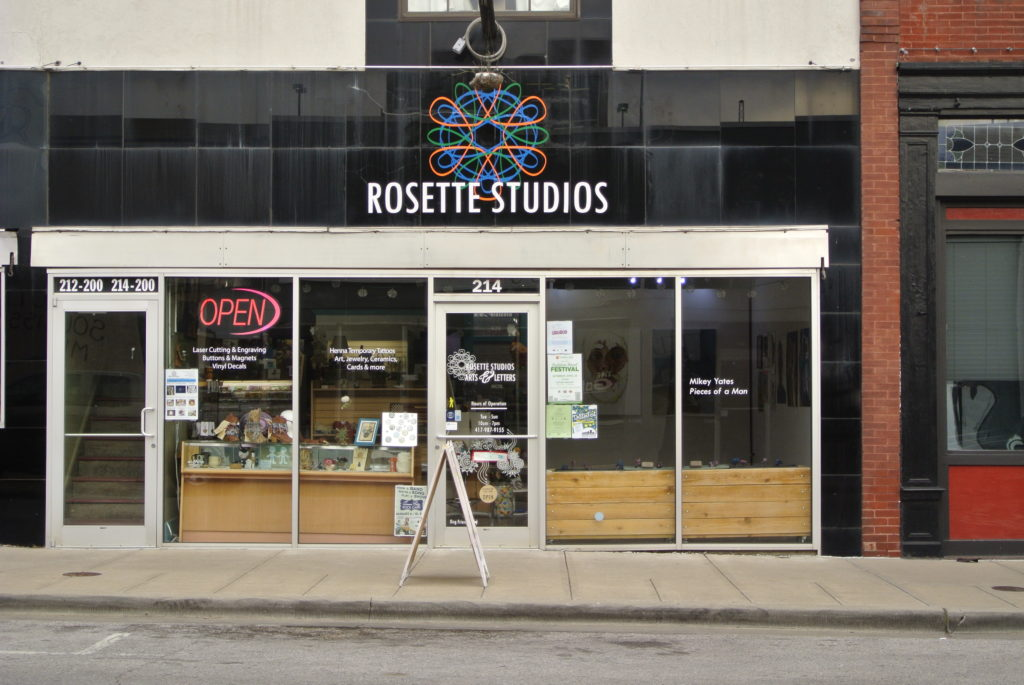 Rosette Studios old location on Campbell