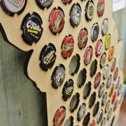 Missouri Bottle Cap Holder