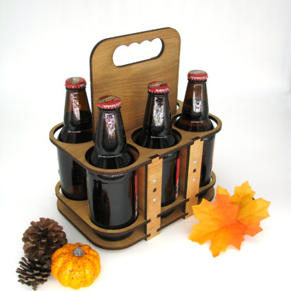 """6 pack"" bottle holder"
