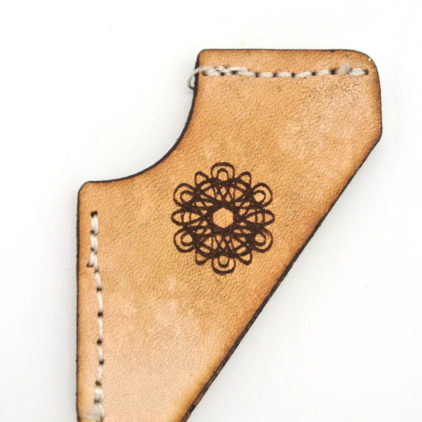Corner Leather Bookmark